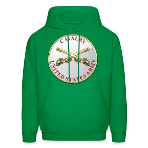 Cavalry Branch Plaque - Men's Hoodie