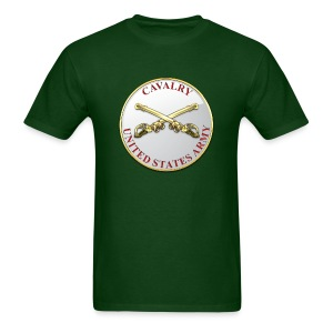 Cavalry Branch Plaque - Men's T-Shirt