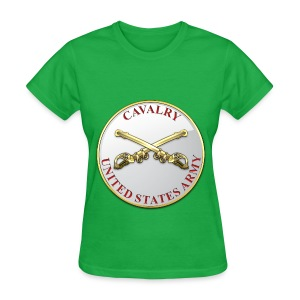 Cavalry Branch Plaque - Women's T-Shirt