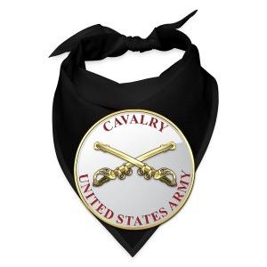Cavalry Branch Plaque - Bandana