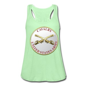 Cavalry Branch Plaque - Women's Flowy Tank Top by Bella