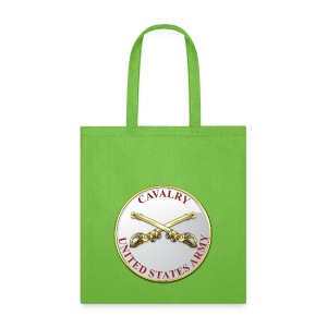 Cavalry Branch Plaque - Tote Bag