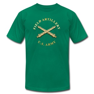 FA Branch Insignia - Men's T-Shirt by American Apparel