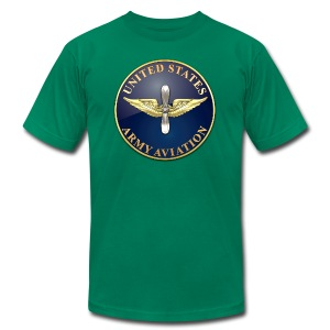 Aviation Branch Plaque - Men's T-Shirt by American Apparel