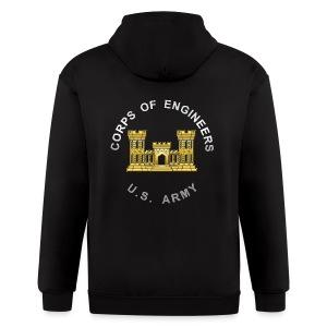 USACE Branch Insignia - Men's Zip Hoodie
