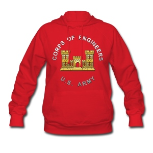 USACE Branch Insignia - Women's Hoodie