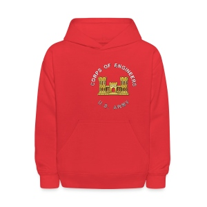 USACE Branch Insignia - Kids' Hoodie
