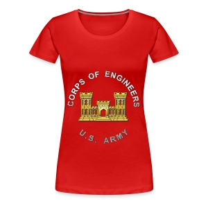 USACE Branch Insignia - Women's Premium T-Shirt