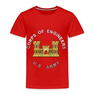 USACE Branch Insignia - Toddler Premium T-Shirt