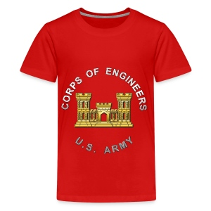 USACE Branch Insignia - Kids' Premium T-Shirt