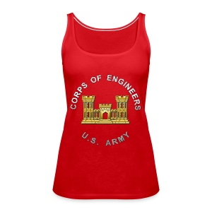 USACE Branch Insignia - Women's Premium Tank Top