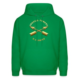 Army SF Branch Insignia - Men's Hoodie