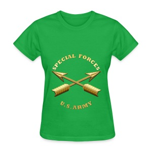 Army SF Branch Insignia - Women's T-Shirt