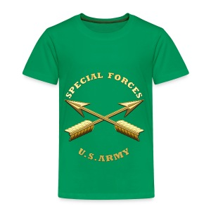 Army SF Branch Insignia - Toddler Premium T-Shirt
