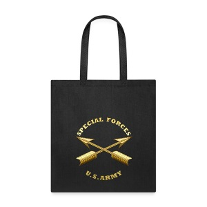 Army SF Branch Insignia - Tote Bag