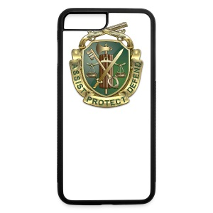MP Regimental Insignia - iPhone 7 Plus/8 Plus Rubber Case