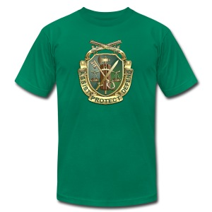 MP Regimental Insignia - Men's T-Shirt by American Apparel