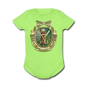 MP Regimental Insignia - Short Sleeve Baby Bodysuit
