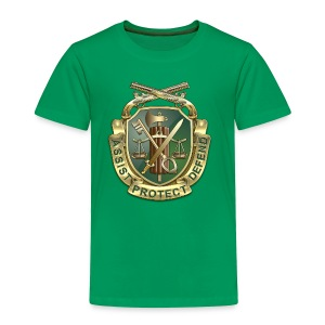 MP Regimental Insignia - Toddler Premium T-Shirt