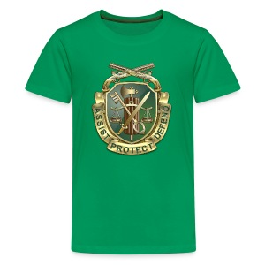 MP Regimental Insignia - Kids' Premium T-Shirt