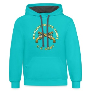 MP Branch Insignia - Contrast Hoodie