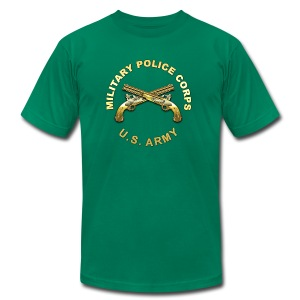 MP Branch Insignia - Men's T-Shirt by American Apparel
