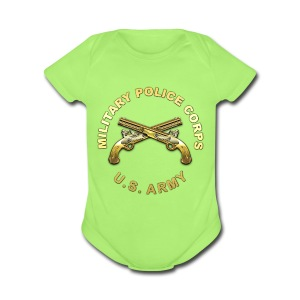 MP Branch Insignia - Short Sleeve Baby Bodysuit