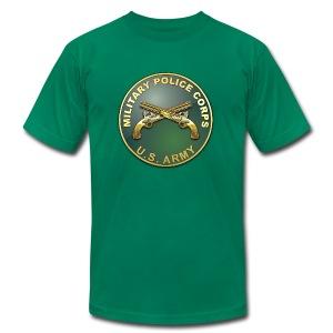 MP Branch Plaque - Men's Fine Jersey T-Shirt