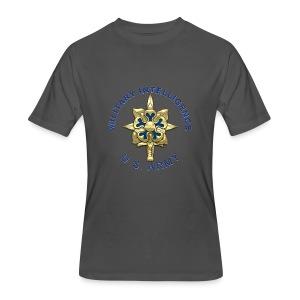 MI Branch Insignia - Men's 50/50 T-Shirt