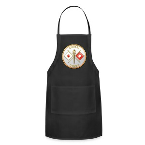 Signal Corps Branch Plaque - Adjustable Apron