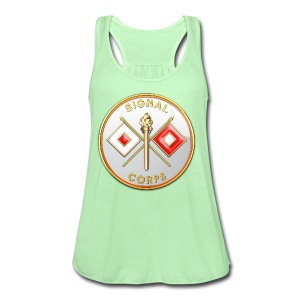 Signal Corps Branch Plaque - Women's Flowy Tank Top by Bella