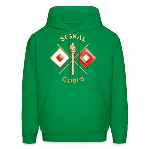 Signal Corps Branch Insignia - Men's Hoodie