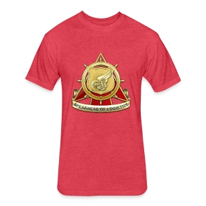 Transportation Corps DUI - Fitted Cotton/Poly T-Shirt by Next Level