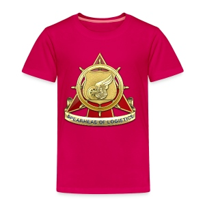 Transportation Corps DUI - Toddler Premium T-Shirt