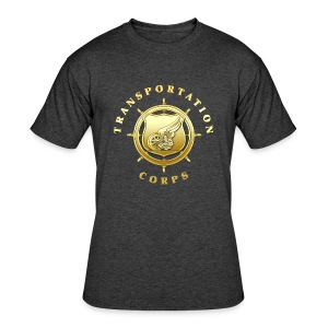 Transportation Corps Branch Insignia - Men's 50/50 T-Shirt