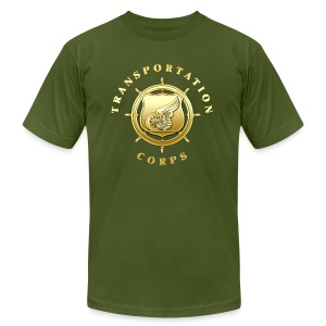 Transportation Corps Branch Insignia - Men's T-Shirt by American Apparel