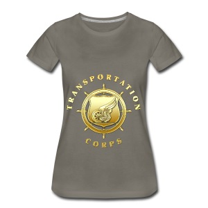 Transportation Corps Branch Insignia - Women's Premium T-Shirt
