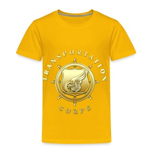 Transportation Corps Branch Insignia - Toddler Premium T-Shirt