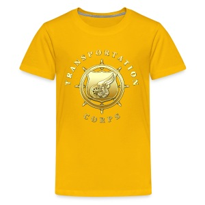 Transportation Corps Branch Insignia - Kids' Premium T-Shirt