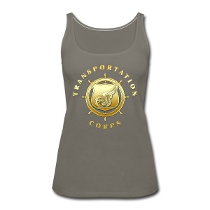 Transportation Corps Branch Insignia - Women's Premium Tank Top
