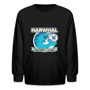 Narwhal - Kids' Long Sleeve T-Shirt
