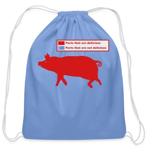 Pig Butchering Guide - Women's Classic - Cotton Drawstring Bag