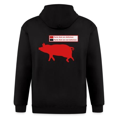 Pig Butchering Guide - Women's Classic - Men's Zip Hoodie