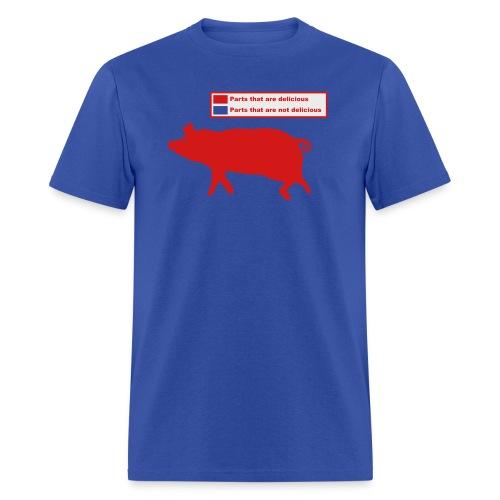 Pig Butchering Guide - Women's Classic - Men's T-Shirt