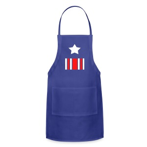 Captain America Inspired T-shirt - Adjustable Apron