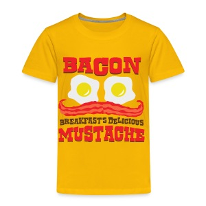 Bacon Mustache - Toddler Premium T-Shirt