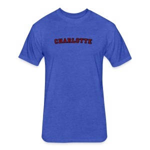 Charlotte T-Shirt College Style - Fitted Cotton/Poly T-Shirt by Next Level