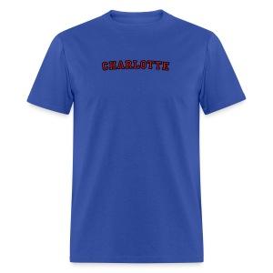 Charlotte T-Shirt College Style - Men's T-Shirt