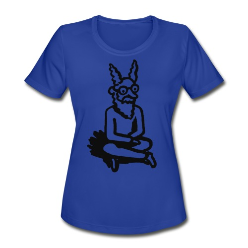 The Zen of Nimbus Kids' t-shirt / Black and white design - Women's Moisture Wicking Performance T-Shirt
