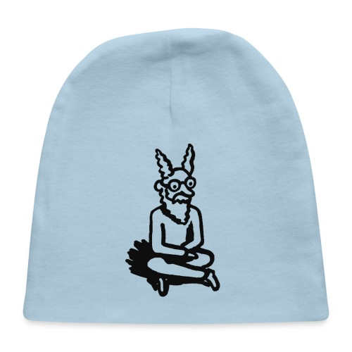 The Zen of Nimbus Kids' t-shirt / Black and white design - Baby Cap